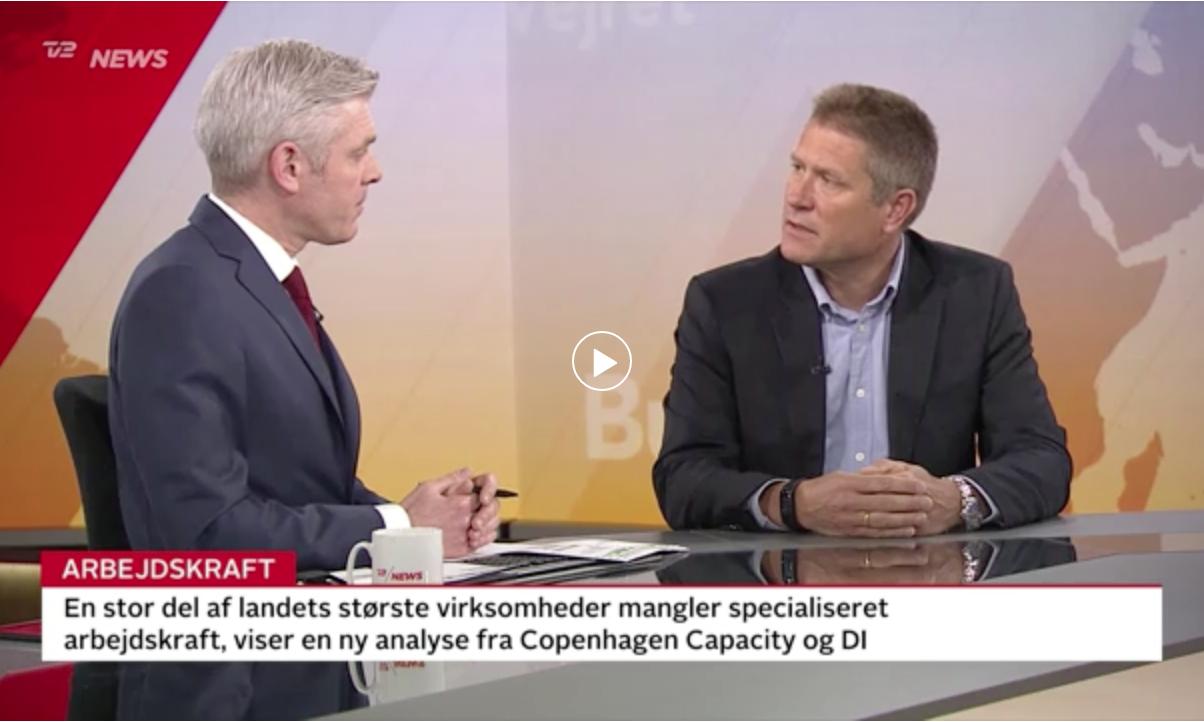 Arbejdskraft undersøgelse DI og Copenhagen Compasety og CBS