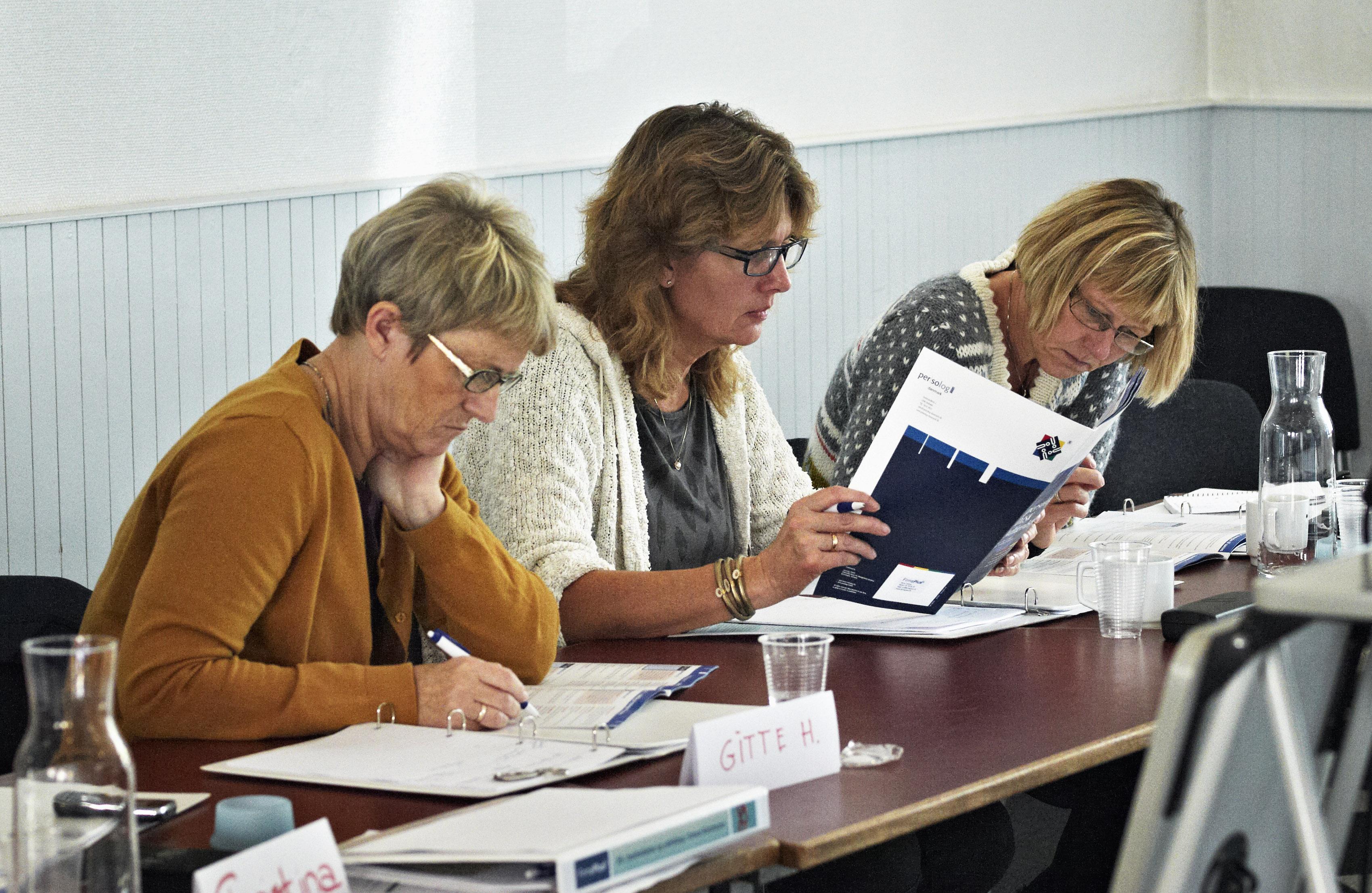 55+ Kommunikations kursus for ledere